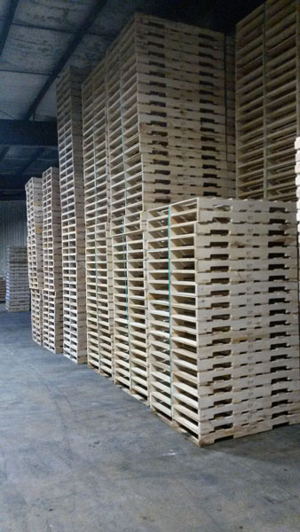 ISPM-15 Compliant Pallets in Chicago, IL