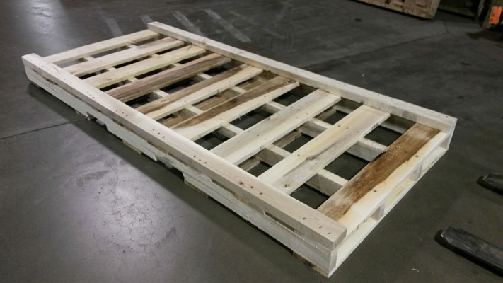 Heat Treatment of Wooden Pallets in Chicago, IL