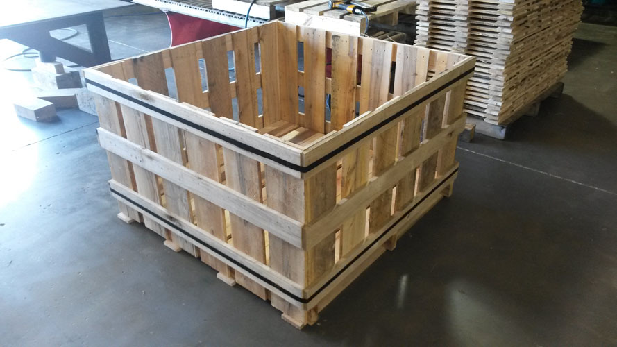 Wooden Shipping Pallets in Sheboygan, WI