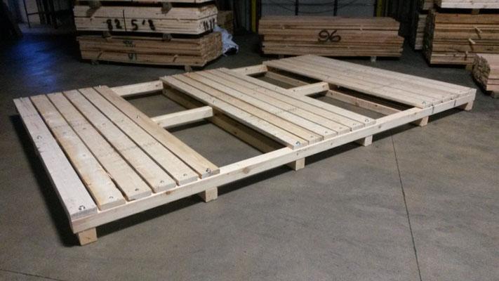Heat Treatment of Wooden Pallets in Illinois